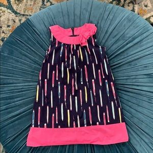 Gymboree dress with pencil print